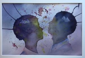 2015 To hoder-lilla Galleri Akvarellen